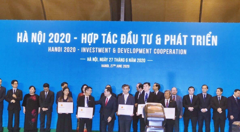 Kim Chung Di Trạch sự kiện hợp tác đầu tư
