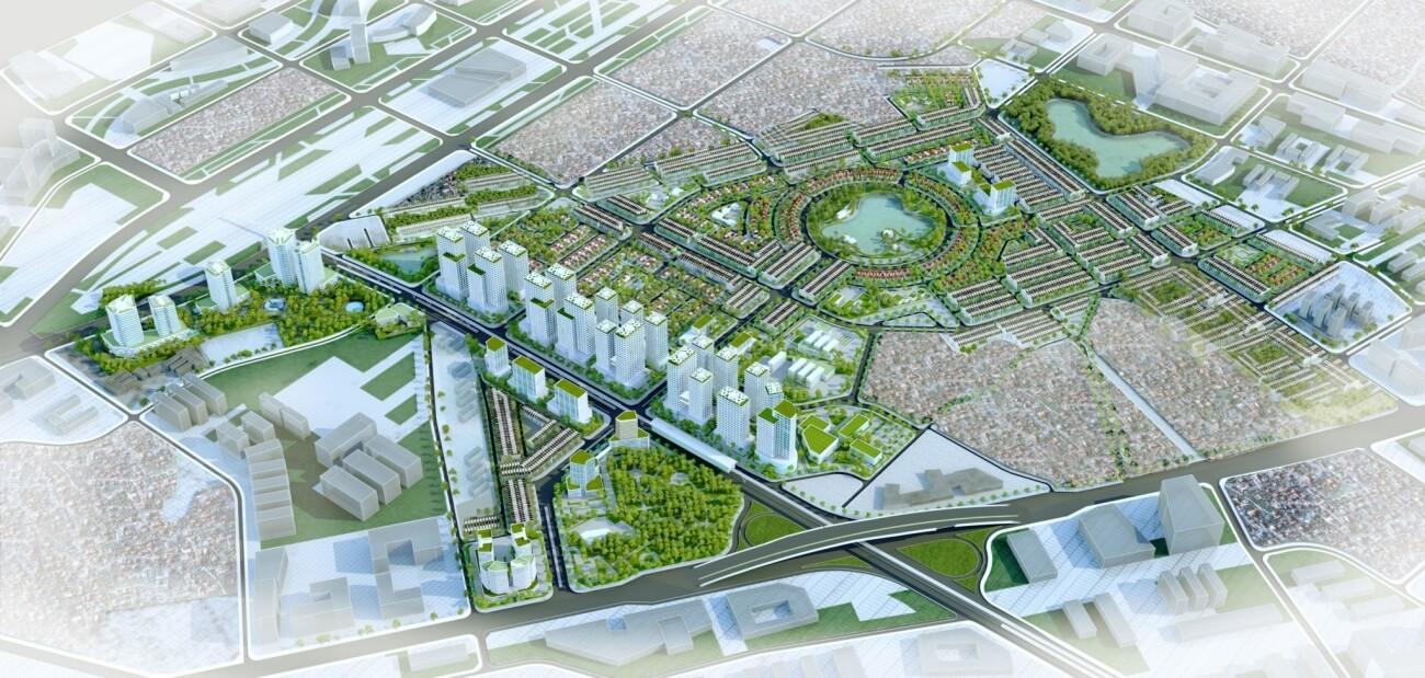 Quy hoạch tổng thể khu đô thị Royal Park